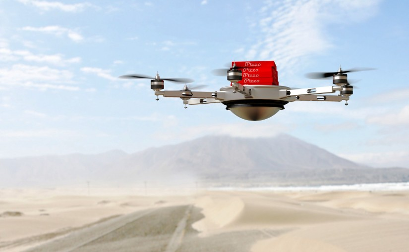 From parcels to pizza: are drones the future of delivery?