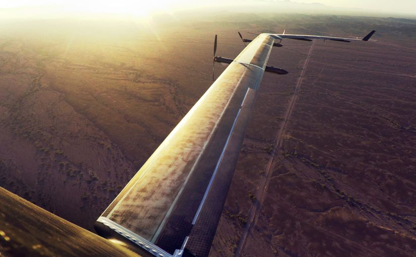 Facebook helicopter-drone to provide wireless internet to disaster areas