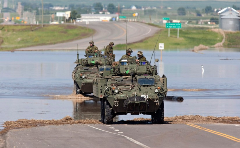 Canadian Forces sent to help deal with worsening flooding inQuebec