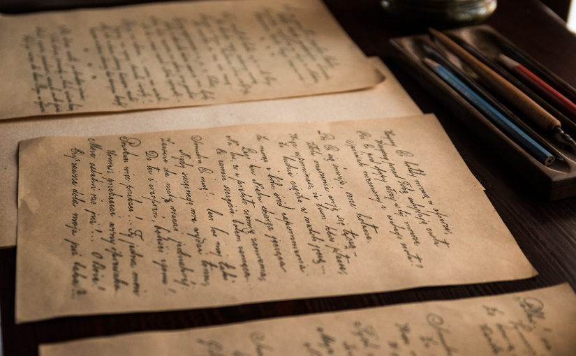 When was the last time you wrote a letter byhand?