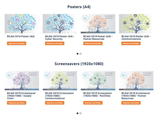 BCAW 2019 posters