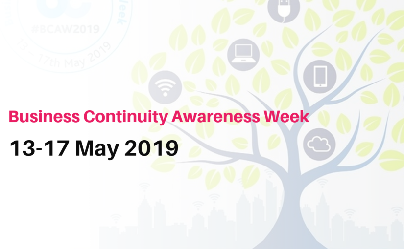 Business Continuity Awareness Week 2019