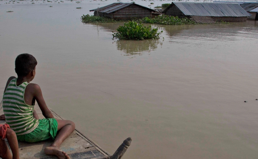 The global geopolitics of disaster: The case of the Nepali floods