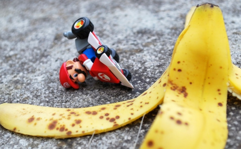 The humble 'Banana Skin' – possibly the greatest risk management tool ever