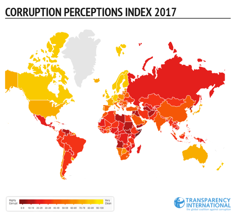 Corruption Perception Index 2017