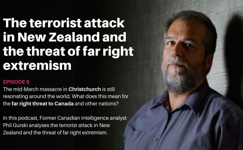 Episode 6 – The terrorist attack in New Zealand and the threat of far rightextremism