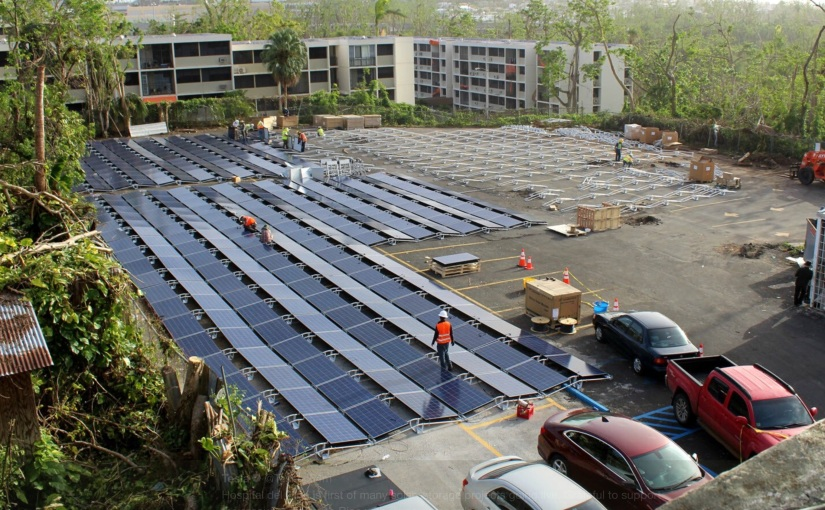 Puerto Rico's solar future takes shape with Teslabatteries