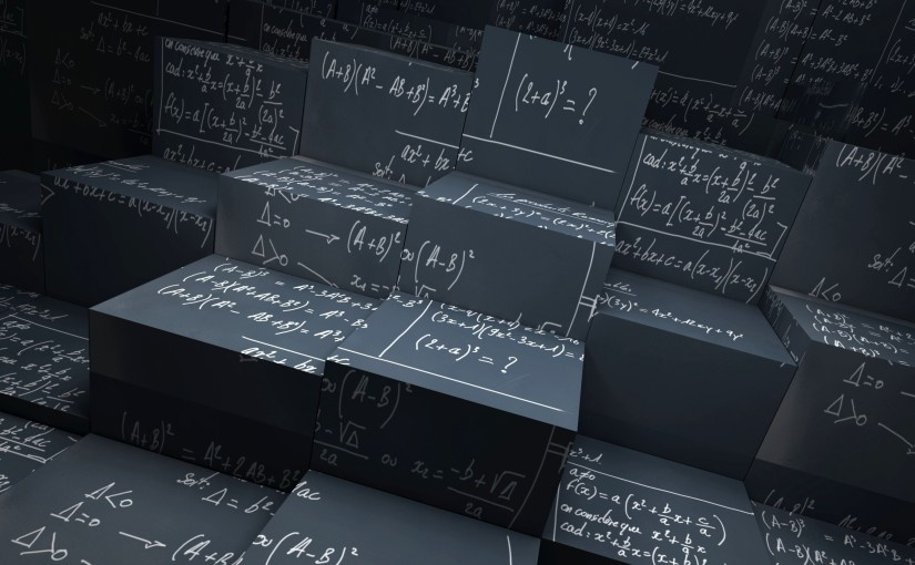 In Math we Trust. That is precisely theproblem.
