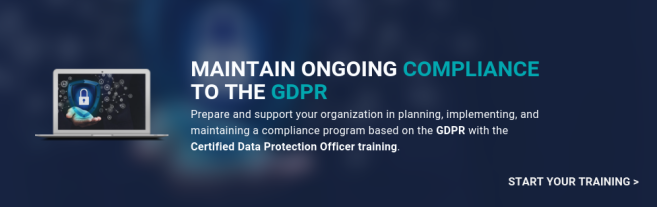 Certified Data Protection Officer training - Maintain compliance to the GDPR