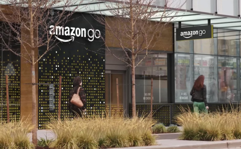 Amazon's automated grocery store of the future openstoday