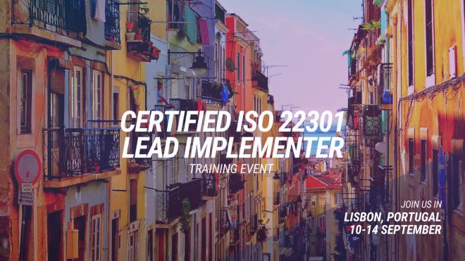 ISO 22301 LI in Lisbon header 2