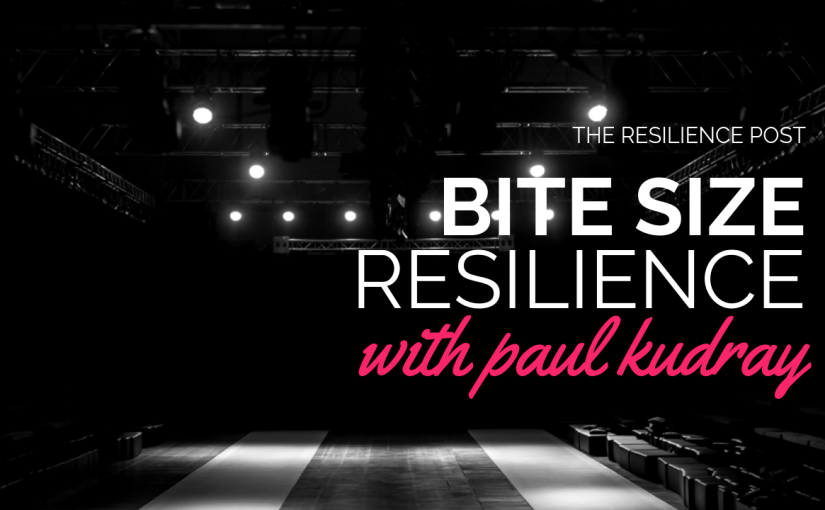 Bite size resilience – Are you ready?